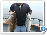Ling Cod and King Salmon